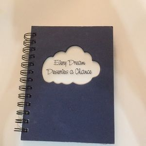 Other - NWOT Notebook Every dream deserves a chance